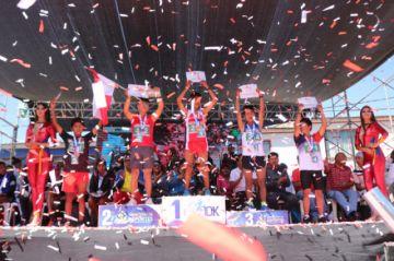 """Potosinos suben al podio en la VII carrera pedestre 10 K """"Integración Bolivia"""""""