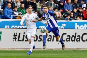 Real Madrid gana a Deportivo Alavés
