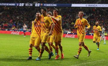 Leonel Messi da el liderato al Barcelona en LaLiga