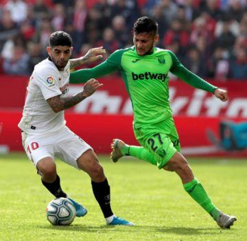 Sevilla se trepa al segundo lugar con una victoria sobre Leganés
