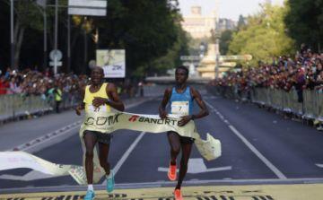 Kibet y Kiptoo dominan el maratón de Puebla