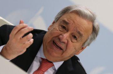 ONU urge actuar por el clima ante el inminente punto de no retorno