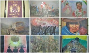 Lucha por la democracia inspira obras de arte