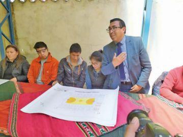 UATF entrega proyecto en beneficio de una escuela en Ollerías