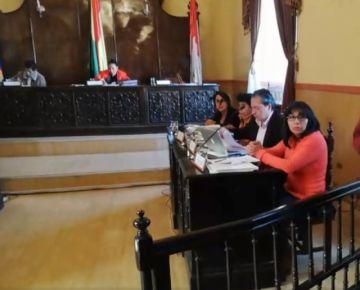 El Potosí está en una sesión del Concejo Municipal