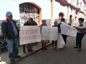 Pobladores de Tupiza solicitaron seguimiento a un proceso