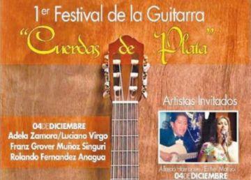 Hoy comienza el Festival Nacional de Guitarras