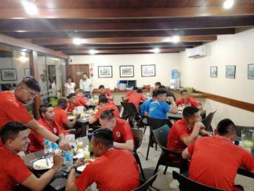 El equipo de Nacional Potosí entrena en Santa Cruz