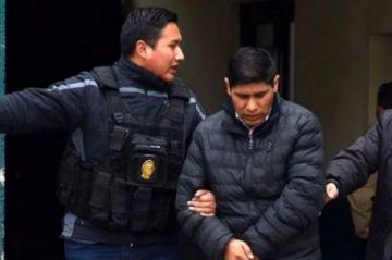 El exvocal Idelfonso Mamani es enviado a la cárcel de San Pedro