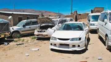 Choferes rechazan posible legalización de autos chutos
