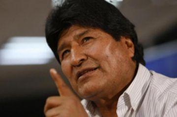 """Evo Moralesdice que las acusaciones de fraude son """"mentiras"""""""