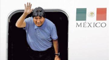 Evo abandonó México para trasladarse a Cuba