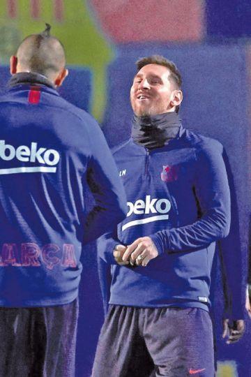 Messi fue elegido como el mejor jugador de LaLiga Santander