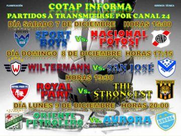 Nacional Potosí juega esta tarde contra Sport Boys