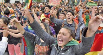 """Generación """"Pitita"""" alista movilización contra la ley que impulsa el MAS"""