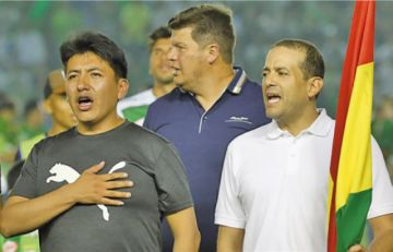 Camacho espera que Pumari diga el motivo por el cual se le dijo no