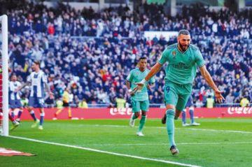 "Real Madrid vence a Espanyol en el ""Bernabéu"""