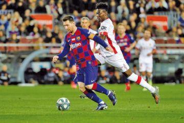"""Barza golea a Mallorca en el """"Camp Nou"""""""