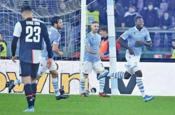 Lazio sorprende a Juventus en la Serie A italiana