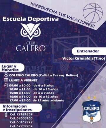 Club Calero inicia cursos vacacionales
