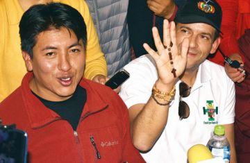 Audio agudiza fractura entre  Camacho y Pumari