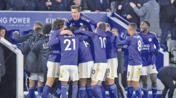 El Leicester se convierte en el principal rival del Liverpool