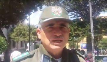 """Policía implementa plan """"Todo por Bolivia"""""""