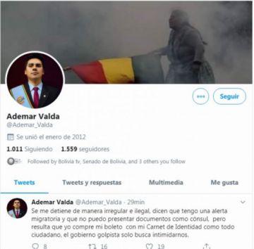 Arrestan a excónsul Ademar Valda