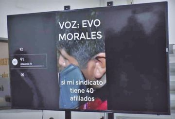 Envían a Colombia el video que involucra a Morales y Yucra