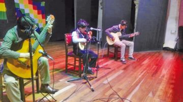 Anoche arrancó un nuevo festival del charango