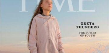 La revista Time elige a Greta Thunberg la personalidad del año