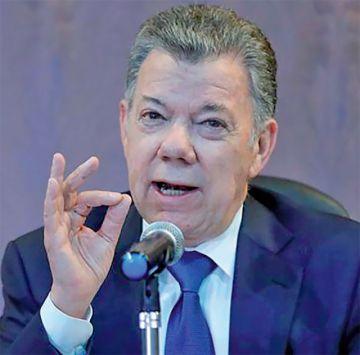 Santos rechaza vínculos con Odebrecht