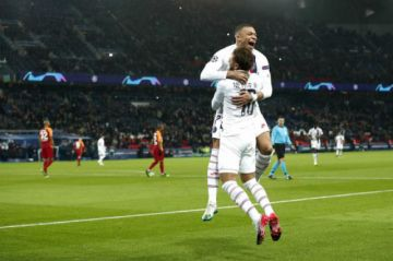 PSG golea a Galatasaray en la Liga de Campeones