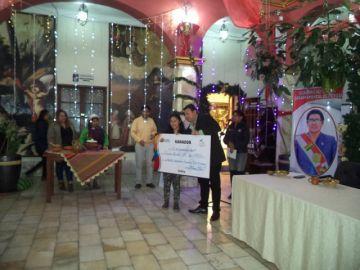 Premian a los ganadores del plato bandera de Potosí