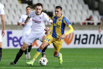 Sevilla pierde en Chipre y mancha su hoja de servicios