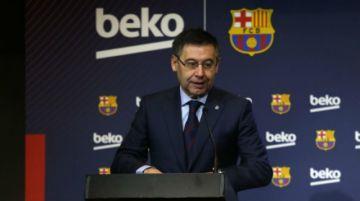 """El presidente de Barcelona Josep Maria Bartomeu asegura que """"el Clásico se jugará"""""""