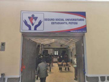 La UATF inaugura el Seguro Social Médico Estudiantil