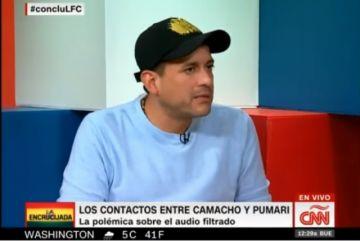 Entrevista revela que Camacho tiene más audios de Pumari