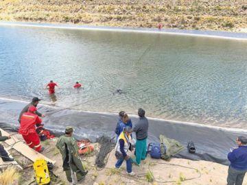 Menores mueren ahogadas en represa de agua y rescatan sus cuerpos