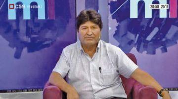 """Evo Morales: """"si quiero, puedo entrar cualquier momento a Bolivia"""""""