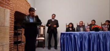 Se desarrolla la presentación del libro de Mario Chacón Torres