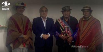 Los Qhara Qhara de Bolivia reclaman tesoros del Galeón San José