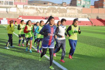 Potosí se mide a Tarija en el nacional de fútbol femenino
