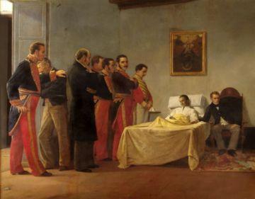 Hoy se recuerda la muerte del Libertador Simón Bolívar