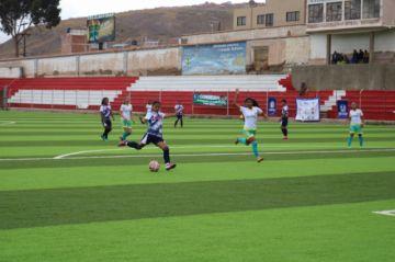 Potosí empata ante Tarija en el torneo nacional de fútbol femenino
