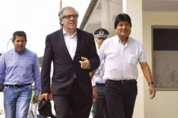Almagro: Morales hizo mucho daño y debe ser indagado por el fraude