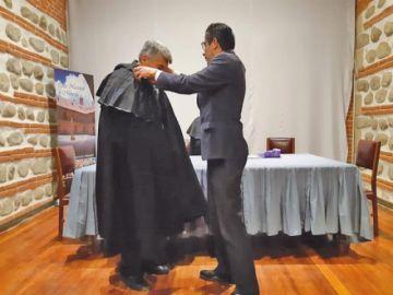 Libro saca a luz amistad entre Sucre y  Felipe Braun