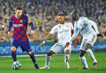 Barcelona y Real Madrid empatan en un clásico que tuvo poco fútbol