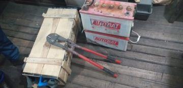 Recuperan objetos de minería  y material explosivo robados