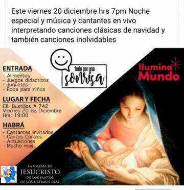 """Iglesia mormona realiza campaña solidaria """"Todo por una Sonrisa"""""""